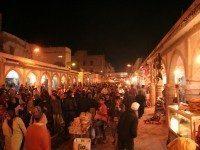 Calle central de la medina de Essaouira