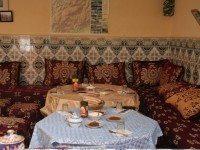 Desayuno en el albergue de Imlil